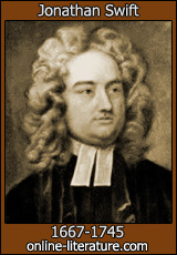 "jonathan swift contrast Swift's ""a modest proposal  the enormous contrast between eating children, which seems horrifying,  as noted in the ""satire"" section of this website, writers like alexander pope and jonathan swift looked back to the ancients to lead them in their satirical literature ""let no man talk to me of these and the like expedients,."