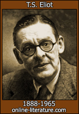 t.s. eliot essay questions