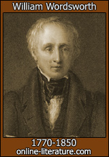 William Wordsworth - Biography and Works. Search Texts, Read ...