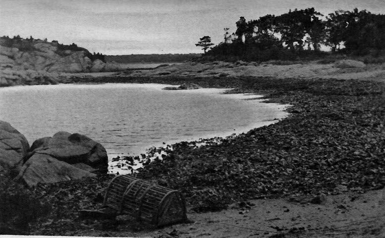 Cohasset, The little cove at Whitehead promontory