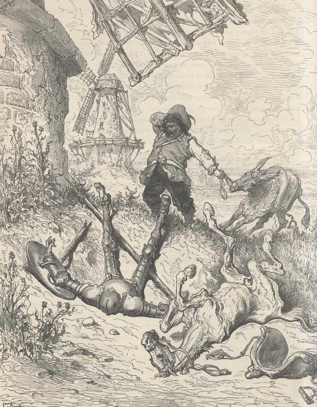 don quixote by miguel de cervantes chapter viii of the good fortune which the valiant don quixote had in the terrible and undreamt of adventure of the windmills other occurrences worthy to be fitly