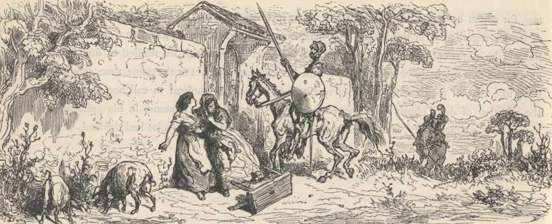 don quixote by miguel de cervantes chapter ii which treats of the first sally the ingenious don quixote made from home